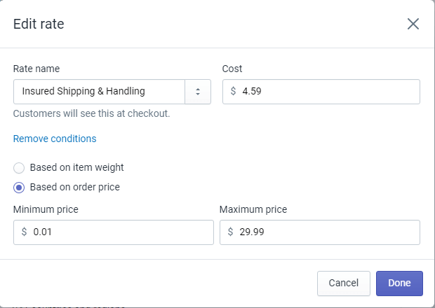 shipping rates 1